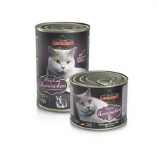 Leonardo Quality Selection Rich In Rabbit консервы для кошек кролик 200 гр