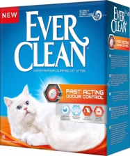 Ever Clean Fast Acting наполнитель кошачий мнгновенный контроль