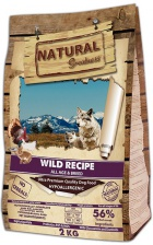 Natural Greatness Wild Recipe корм для собак беззерновой 4 вида мяса 2 кг
