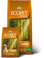 Сухой корм  для собак Farmina Ecopet Natural Lamb Adult Maxi ягненок 12 кг