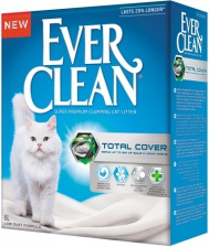Наполнитель кошачий Ever Clean Total Cover без запаха 6 кг