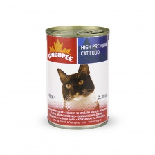Chicopee Cat Chunks with Beef 0.4 кг