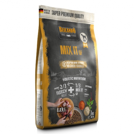 Belcando Mix it GF корм для собак ДОБАВКА К МЯСУ БЕЗЗЕРНОВАЯ 3 кг фото 1